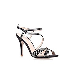 Carvela - Black 'Ladybird' high heel sandal