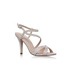 Carvela - Natural 'Ladybird' high heel sandal