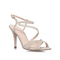 Carvela - Gold 'Ladybird' high heel sandals