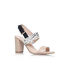 Carvela - Nude 'Shadow' mid heel sandal