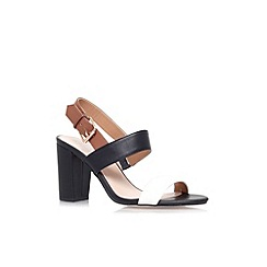Carvela - Tan 'Shadow' mid heel sandal