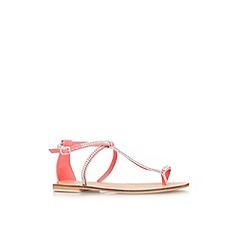 Carvela - Pink 'Beach' flat sandal