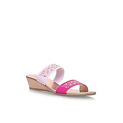 Carvela Comfort - Pink 'Sage' low heel sandals
