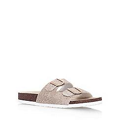 Miss KG - Nude 'Joanna' flat slip on sandal