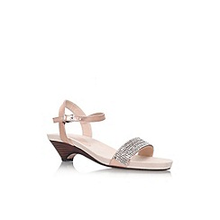 Carvela - Metal 'Sapphire' low heel sandal