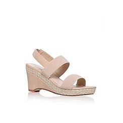 Carvela - Nude 'Sassy' mid heel sandal