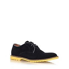 KG Kurt Geiger - Black 'Ravenshead' flat lace up formal shoe