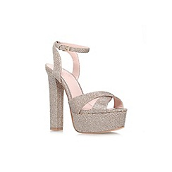Lipsy - Gold 'Verity' high heel platform sandal