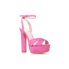 Lipsy - Pink 'Verity' high heel platform sandal