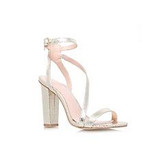 Lipsy - Gold 'Bonnie' high heel strappy sandal