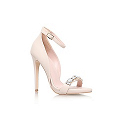 Lipsy - Nude 'Cindy' high heel strappy sandal