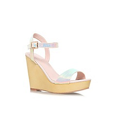 Lipsy - Multi 'Mandie' high wedge platform sandal