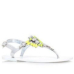 Lipsy - White 'Melanie' flat sandal