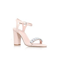 Lipsy - Nude 'Becca' high heel strappy sandal