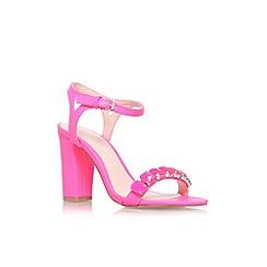 Lipsy - Pink 'Becca' high heel strappy sandal