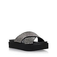 Carvela - Black 'Krypton' flat sandals