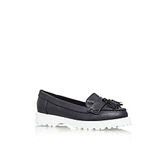 Miss KG - Black 'Nicolette' flat slip on shoe