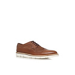 KG Kurt Geiger - Brown 'Gotham' flat lace up formal shoe