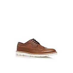 KG Kurt Geiger - Tan 'Gotham' flat lace up formal shoe