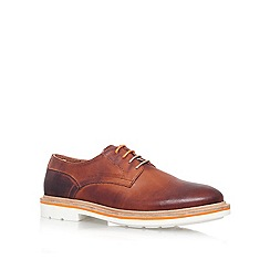 KG Kurt Geiger - Brown 'Oxton' Leather lace up