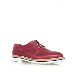 KG Kurt Geiger - Red 'Oxton' Leather lace up
