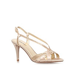 Nine West - Champagne 'Illiona2' high heel sandal