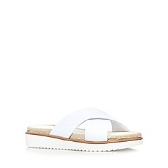 Carvela - White 'Kream' flat sandal