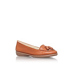 Carvela Comfort - Tan 'Como' flat slip on loafer