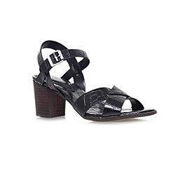 Carvela - Black 'Sand' mid chunky heel sandals