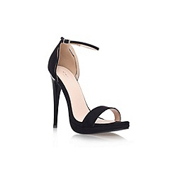 Carvela - Black 'Jessie' high heel sandal