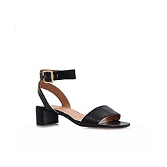 Nine West - Black 'Hyacinth' low heel sandal