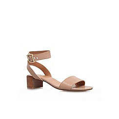 Nine West - Nude 'Hyacinth' low heel sandal