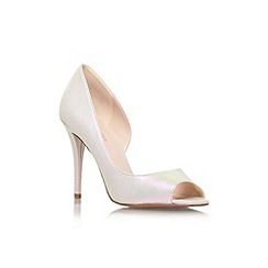 Nine West - Gold 'Dorey8' high heel court shoe