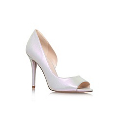 Nine West - Silver 'Dorey8' high heel court shoe
