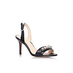 Nine West - Black 'Ganiston' high heel strappy sandal
