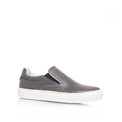 KG Kurt Geiger - Grey 'Jerome' Flat slip on sneakers