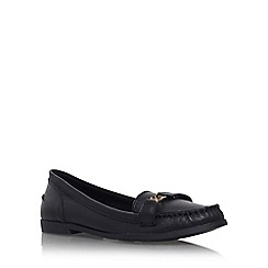 KG Kurt Geiger - Black 'Kassidy' flat slip on loafer