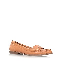 KG Kurt Geiger - Tan 'Kassidy' flat slip on loafer