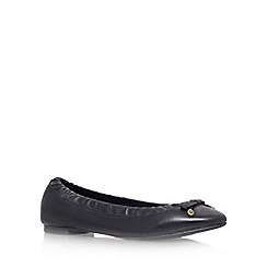 KG Kurt Geiger - Black 'Kitten' flat ballerina pumps
