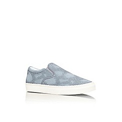 KG Kurt Geiger - Blue 'Caunton' flat slip on casual shoes