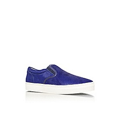 KG Kurt Geiger - Purple 'Caunton' flat slip on casual shoe