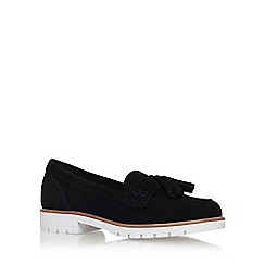 KG Kurt Geiger - Black 'Kola' low heel loafer