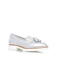 KG Kurt Geiger - Silver 'Kola' low heel loafer