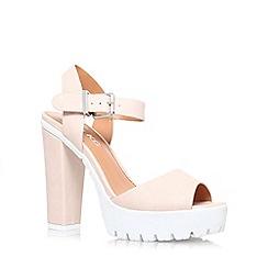 Miss KG - Nude 'Oanther' high heel platform sandal