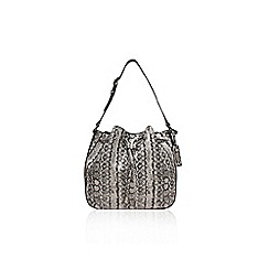 Nine West - Blk/white 'Franke bucket' handbag