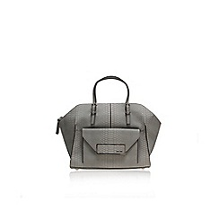 Nine West - Grey 'Helena' satchel handbag