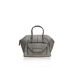 Nine West - Grey 'Helena' satchel handbag