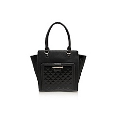 Nine West - Black slice tote large handbag
