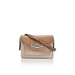Nine West - Tan 'Strong angles' clutch bag