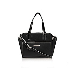Nine West - Black 'Zip n go tote' handbag